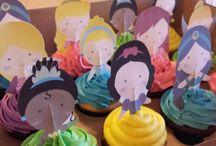 cupcakes principesse
