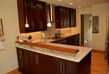 Kitchen: Wood Kitchen Cabinets...simplicity, elegance and finctional design! / We loved creating this warm, welcoming kitchen with and for the Ansell family. Your Style, Our Craftsmanship, Shared Pride! La Cuisine Kitchen Cabinets