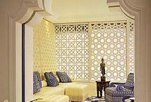 Wnętrza orientalne / Egzotyczne wnętrza w stylu orientalnym.