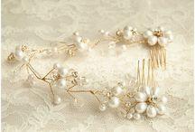 bridal headpieces/accessories