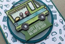 Stamp Sets - Tasty Trucks