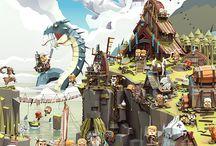 Animation, Digital Art, Illustration