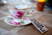 Vintage teacup favors