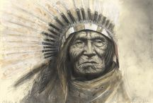 In Search of lost Time / Portraits of Native Americans (© Andreas Noßmann)