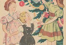 Vintage kids / Vintage for kids. Vintage patterns, vintage kids clothes