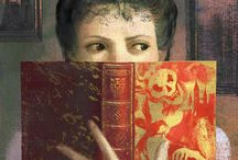 Paintings of Reading and Books