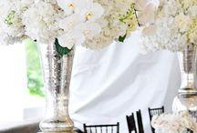 Floral & Decor - White