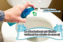 Désodorisant WC et autre