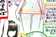 女性の描き方