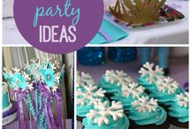Frozen Party Theme