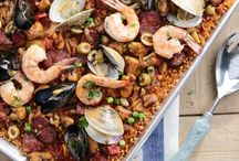 Easy-oven Paella seafood,Val's.