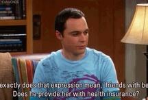 The Big Bang Theory funnies.  / by Lindsay Robinson