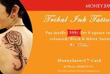 Tattoo Deals / Get discount for tattoo from MoneySaverZ