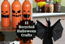 Recycled Halloween / Find great ideas to make recycled costumes, crafts & decorations for Halloween!