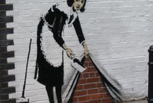 Streetart London / Street art bansky