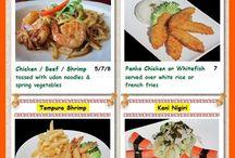 Takara Sushi Kids Meal