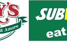 Places To Eat / Sales & Promotions For Mary's Pizza Shack & Subway at the Shasta Outlets