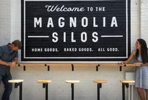 Magnolia silos style