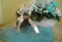 navidad azul