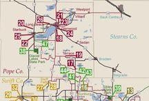 Minnesota tourism maps / Minnesota tourism maps