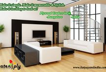 Playwood Traders in Bangalore /  Katyayani Mahamaye is a Playwood Traders in Bangalore also manufactures plywood using optimum quality raw material and advanced technology. To ensure highest quality standards, strict quality norms are followed at all levels.