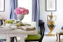 Interesting Color Combinations / Love these color combos for the home