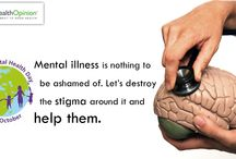 World Mental Health Day / Mental illness is nothing to be ashamed of, let's destroy the stigma around it and help them.