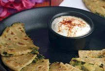 Indian Flat Breads, Parathas, Naan, Roti