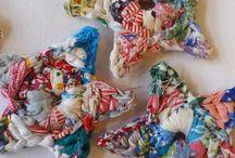 Crochet shapes and flowers / by Sandra Bolser