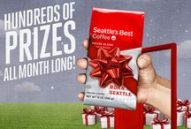 Seattle's Best Doorbusters / Whether shopping online from home or on-the-go, Seattle's Best Coffee is here to help you get a jump on the holiday frenzy, all while enjoying a cup of great-tasting coffee. Click here for a chance to win a Seattle's #BESTDoorbusters giveaway! http://bit.ly/13K70ap  / by Seattle's Best Coffee