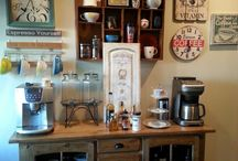 home coffee station / by Anna Marie