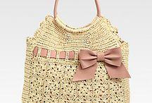 carteras y accesorios en crochet / tejido crochet