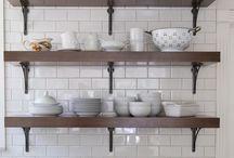 Kjøkkenideer / Hyller