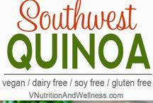 clean salad recipes ie quinoa
