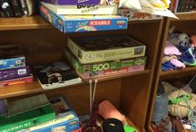 Board game geekery / Board games, board-free board games, table-top gaming, games cupboards and collections. All things play.