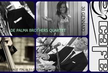 LU-GIO' CAFE' and live Music / DE PALMA BROTHERS QUARTET