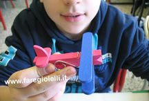 Kid's Activities / Idee, giochi, attività, passatempi & barbatrucchi.