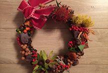 Wreaths / Door decoration for newyear
