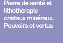 lithotherapie