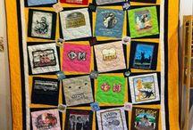 T-shirt quilt ideas / by Liz Below