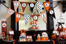 halloween. / One day I'm going to throw a huge Halloween party. Maybe it'll be for my 50th birthday.