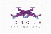 Drone Logo's for sale by LogoMood.com Melanie D's