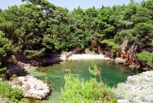 Lokrum Island From Amazing Croatia / Lokrum is a small island right off the shore of the old city of Dubrovnik. The beautiful clear water gives you the idea of jump into the water! The island has a botanical garden and a Royal castle.