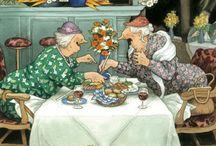 смешные бабушки