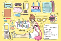 (( Kawaii Bagpacks )) / what's in my bag ..kawaii !!xD
