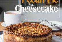 The best of both worlds! This Brown Sugar Pecan Pie cheesecake