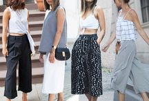 How to wear : Culottes