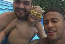 Davi , Neymar i Gusttavo