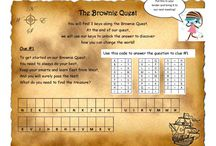Brownie- Brownie Quest Journey Ideas / Helpful Ideas for working on the Brownie Quest Journey! / by Girl Scouts of Eastern Iowa and Western Illinois