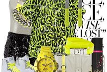 Neon / Bright / Funky neon trends and styles.  / by Katydid.com